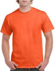 Gildan Voordelige oranje t-shirts 2xl