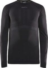 Grijze CRAFT fietsmet lange mouwen Active Intensity onderhemd, voor heren, Maat M,