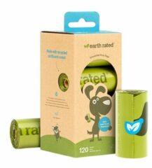 Earth Rated Poepzakjes Navulling Box Geurloos - Hondenpoepzakjes - 22.86x33.03 cm Groen 8 rol