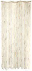 Xenos Vliegengordijn - bamboe - 90x200 cm