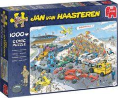Jumbo legpuzzel Jan van Haasteren Formule 1 De Start 1000 stukjes