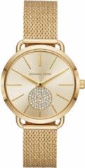 Gouden Michael Kors Horloge Portia MK3844