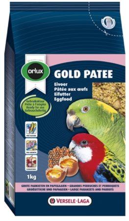 Afbeelding van ORLUX GOLD PATEE EIVOER GROTE PARKIET/PAPEGAAI #95; 1 KG