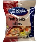De Bron - Lifestyle Candy Suikervrije Fruit & Juice Toffee