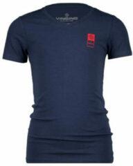 Donkerblauwe Vingino Basic Kinder Jongens T-shirt - Maat 8