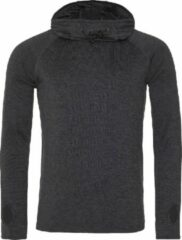 AWDis Gewoon Cool Mens Cowl Neck Long Sleeve Baselayer Top (Zwarte leisteenmelange)