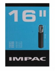 Zwarte Impac Binnenband 16 X 1.75/2.125 (47/57-305) Av 35mm