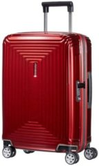 Rode Samsonite Neopulse Spinner Lifestyle Spinner Reiskoffer (Handbagage) - 38 liter - Metallic Red