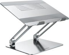 Zilveren Nillkin Laptopstandaard - Universeel - Verstelbaar - Inklapbaar - Aluminium - 13, 14, 15, 16 en 17 inch - Antislip - Stabiel - Apple Macbook Pro/Air - iPad - Asus - HP - Acer - Microsoft - Lenovo - Windows - Tablet - Stand