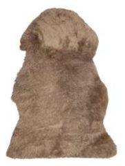 Beliani Uluru Schapenvacht Schapenvacht 100-110 X 65 Cm