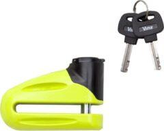 Gele Vinz Eiger Schijfremslot 10 mm (Remschijfslot voor motor of scooter)