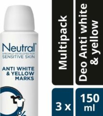 Neutral AP Deo Antiwhite&yellow - 3x150ml