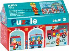 Apli Kids Puzzel Brandweerkazerne