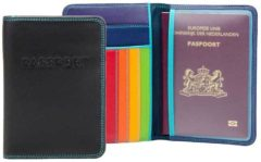 Zwarte Mywalit Accessories Passport Cover black/pace