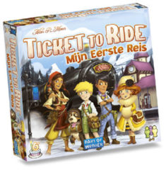 Days of Wonder Ticket to Ride mijn eerste reis kinderspel kinderspel