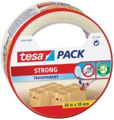 1x Tesa verpakkingstape transparant sterk 66 mtr x 38 mm - Klusmateriaal - Verpakkingsmateriaal - Inpakmateriaal - Verpakkingsbenodigdheden - Verpakkingstape/inpaktape - Dozen afsluittape