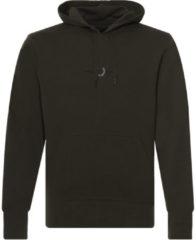 Fred Perry - Sweatshirt met geborduurd logo en capuchon in donkergroen