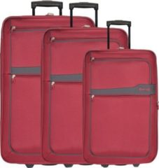 D&n Travel Line 9300 2-Rollen Trolley Set 3-tlg