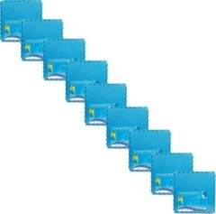 Blauwe Comfortpool - Voordeelpakket - Zwembad tegels - 45 tegels - 60 x 60 cm - 16,2m²