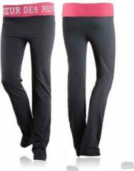 Fuchsia Boxeur Des Rues Lady Workout Pants-anthracite