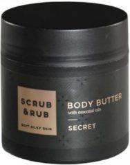 Scrub&rub Scrub & Rub - Secret - Body Butter - 200 ml