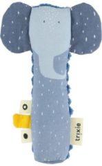 Trixie Knijprammelaar Mrs. Elephant 16 X 5,5 Cm Katoen Blauw