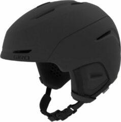 Zwarte GIRO Giro Neo Sneeuw Helm Unisex - Matte Black
