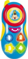 Blauwe Studio 100 speelgoedtelefoon Bumba 16 cm blauw