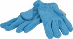 P&T Handschoenen Micro Fleece - Zeeblauw - 10-12j