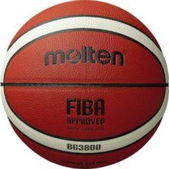 Oranje Molten basketbal BG3800 - maat 7 - (opvolger van GM7X) FIBA Indoor Basketbal (size 7)