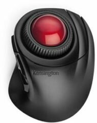 Zwarte Kensington Orbit Fusion muis Rechtshandig RF Draadloos Laser 1500 DPI