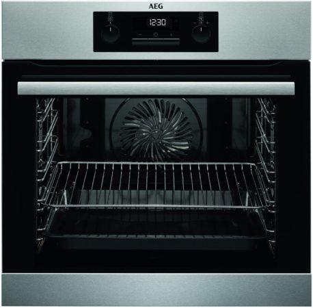 Afbeelding van Roestvrijstalen AEG BPB331020M Electrisch 71l 3500W A+ Roestvrijstaal oven