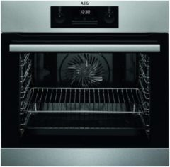 Roestvrijstalen AEG BPB331020M Electrisch 71l 3500W A+ Roestvrijstaal oven