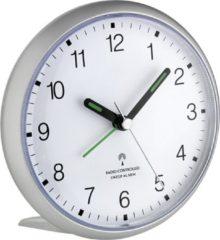 Zilveren TFA Dostmann TFA 60.1506 afstand bedienbare wekker