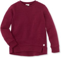 Hessnatur Kinder Sweatshirt aus Bio-Baumwolle – rot – Größe 122/128
