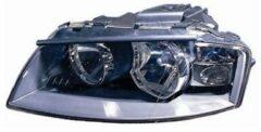 AUDI KOPLAMP LINKS H7+H7 inclusief MOTOR