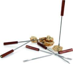 Zilveren Boska Taste Fonduevorken - 6 stuks