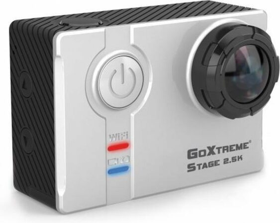 Afbeelding van Grijze Easypix GoXtreme Stage 2.5K Ultra HD Stereo Cam 4MP Wi-Fi 74g actiesportcamera