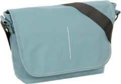 Blauwe New Rebels Mart Shoulderbag A4 Flapover Soft Blue VIII | Schoudertas