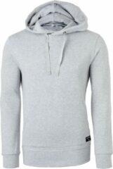 Bjorn Borg Björn Borg hoodie sweatshirt (dik) - lichtgrijs melange - Maat: M