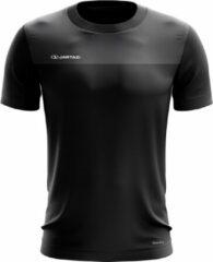 Jartazi T-shirt Bari Heren Polyester Zwart Maat L