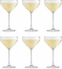 Transparante Libbey Iduna Champagneglazen - 300 ml - 6 stuks - Elegant - Hoge kwaliteit - Vaatwasserbestendig
