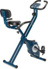 Capital_sports Azura M3 Hometrainer tot 100 kg Hartslagmeter inklapbaar 3 kg blauw