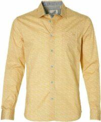 Gele No excess Heren Overhemd XL