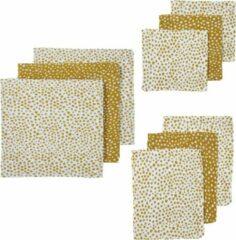 Gouden Meyco hydrofiel starterset Cheetah - 9-pack - Honey gold