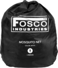 Fosco Industries muskietennet Mosquito net 1 persoons - Wit