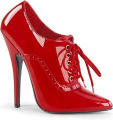 Devious Hoge hakken, Paaldans schoenen -35 Shoes- DOMINA-460 Paaldans schoenen Rood