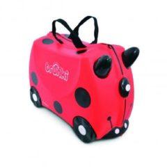 Rode Trunki Ride-On Handbagage koffer 46 cm - Lieverheersbeestje Harley
