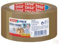 Tesa 57177-00000-00 Pakband tesapack Ultra Strong Bruin (l x b) 66 m x 50 mm 1 rol/rollen