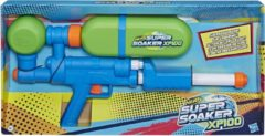 NERF waterpistool Super Soaker XP100 junior 50 cm groen/blauw